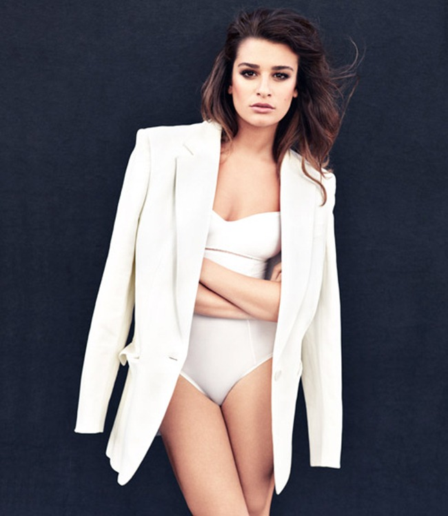 MARIE CLAIRE MAGAZINE- Lea Michele by Andreas Sjodin. January 2013, www.imageamplified.com, Image Amplified (1)
