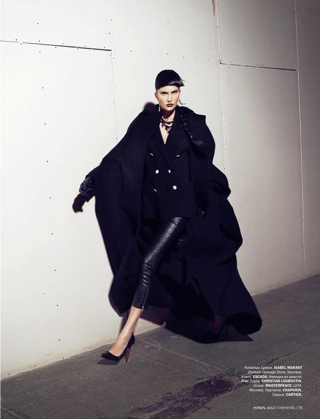 L'OFFICIEL UKRAINE- Alla Kostromichova in Top Model by Natali Arefieva. Alexander Rogov, November 2012, www.imageamplified.com, Image Amplified (8)