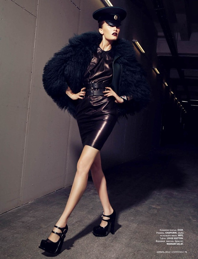 L'OFFICIEL UKRAINE- Alla Kostromichova in Top Model by Natali Arefieva. Alexander Rogov, November 2012, www.imageamplified.com, Image Amplified (5)