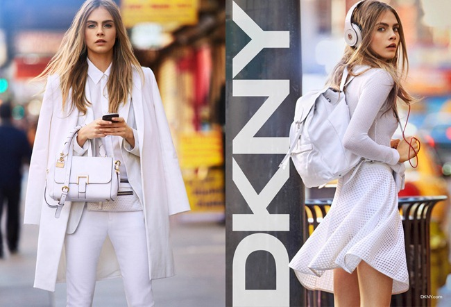 CAMPAIGN- Cara Delevigne for DKNY Spring 2013 by Patrick Demarchelier. www.imageamplified.com, Image Amplified