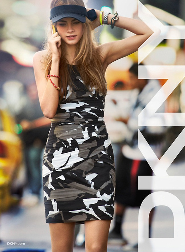 CAMPAIGN- Cara Delevigne for DKNY Spring 2013 by Patrick Demarchelier. www.imageamplified.com, Image Amplified (2)