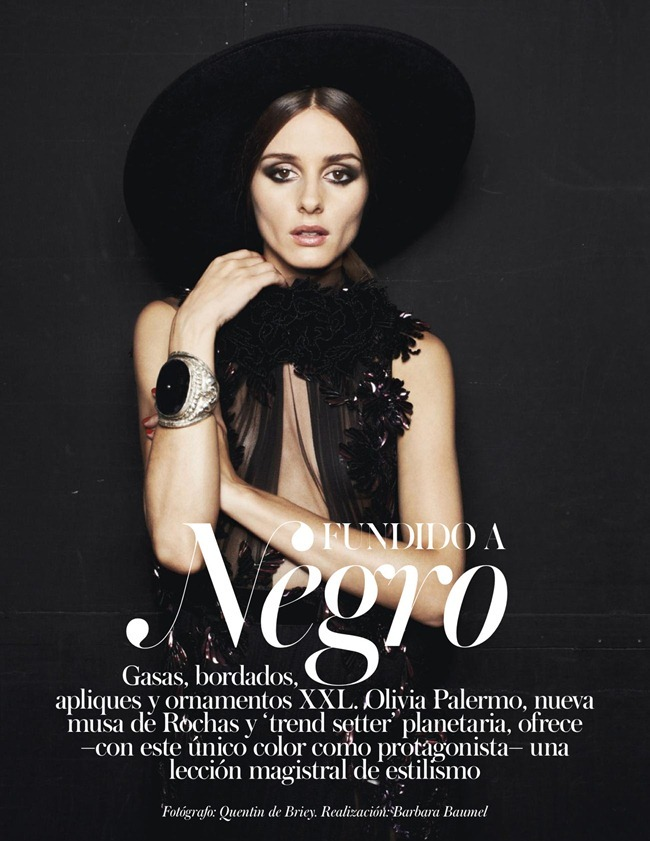VOGUE SPAIN- Olivia Palermo in Fundido A Negro by Quentin De Briey. Barbara Baumel, January 2013, www.imageamplified.com, Image Amplified (1)
