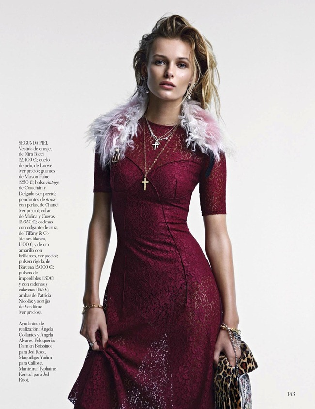 VOGUE SPAIN- Edita Vilkeviciute in El Efecto Vintage by Patrick Demarchelier. Belen Antolin, January 2013, www.imageamplified.com, Image Amplified (9)