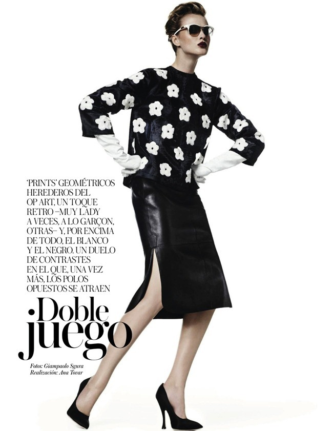VOGUE SPAIN- Anne V in Doble Juego by Giampaolo Sgura. Ana Tovar, January 2013, www.imageamplified.com, Image Amplified