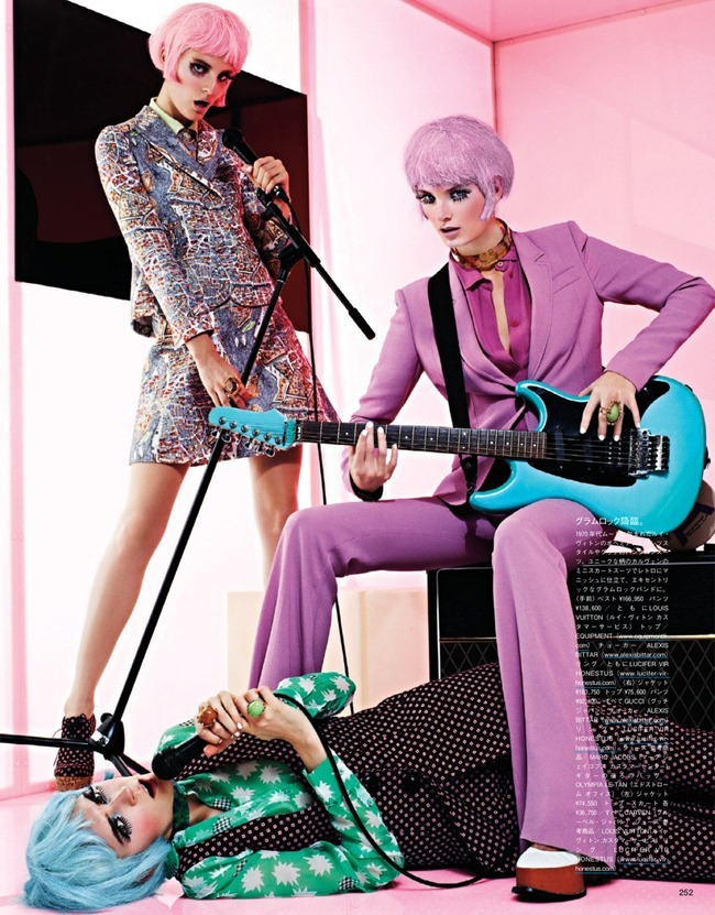 VOGUE JAPAN- Girls In The Band by Sharif Hamza. Giovanna Battaglia, February 2013, www.imageamplified.com, Image Amplified (6)