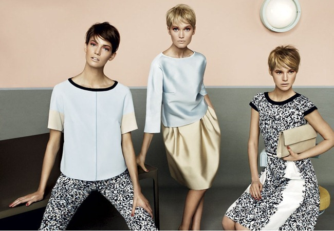 CAMPAIGN- Kendra Spears, Juju Ivanyuk & Toni Garrn for MaxMara Studio Spring 2013 by Giampaolo Sgura. www.imageamplified.com, Image Amplified (6)