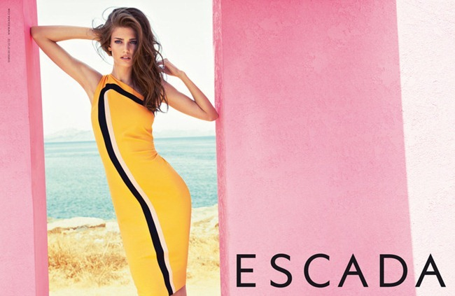 CAMPAIGN- Kendra Spears for Escada Spring 2013 by Knoepfel & Indlekofer. www.imageamplified.com, Image Amplified