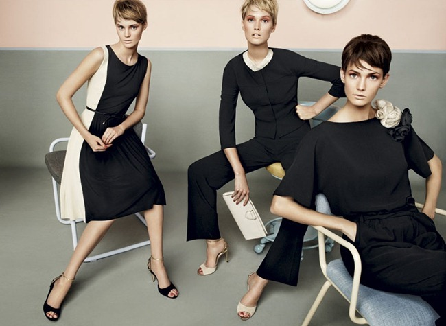 CAMPAIGN- Kendra Spears, Juju Ivanyuk & Toni Garrn for MaxMara Studio Spring 2013 by Giampaolo Sgura. www.imageamplified.com, Image Amplified (1)