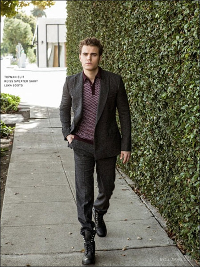 BELLO MAGAZINE- Paul Wesley in Bloody Good by Aleksander Tomovic. www.imageamplified.com, Image Amplified (2)