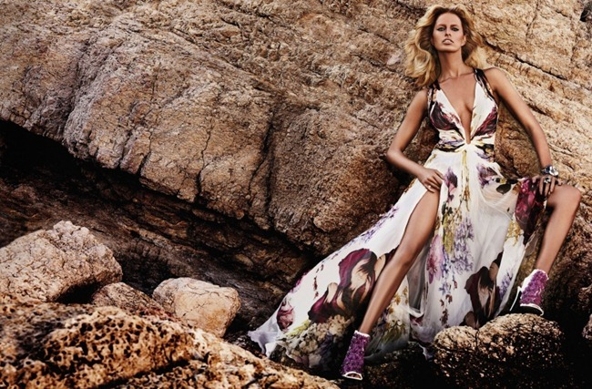 CAMPAIGN- Anne Vyalitsyna & Karolina Kurkova for Roberto Cavalli Resort 2013 by Giampaolo Sgura. www.imageamplified.com, Image Amplified (6)