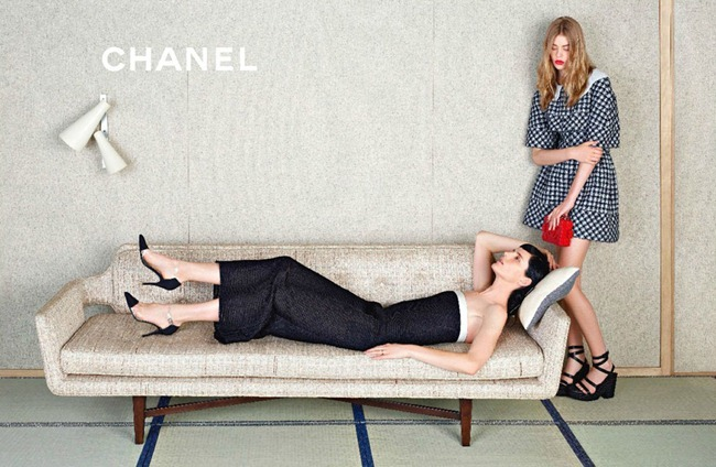 CAMPAIGN- Stella Tennant, Ondria Hardin & Yumi Lambert for Chanel Spring 2013 by Karl Lagerfeld. www.imageamplified.com, Image Amplified (4)