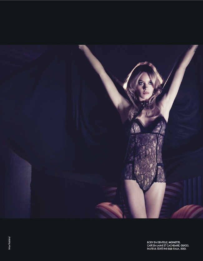ELLE FRANCE- Camille Rowe in SExe, Mode & Rock'n Roll by Max Vadukul. Elissa Cannelle Castelbou, December 2012, www.imageamplified.com, Image Amplified (4)