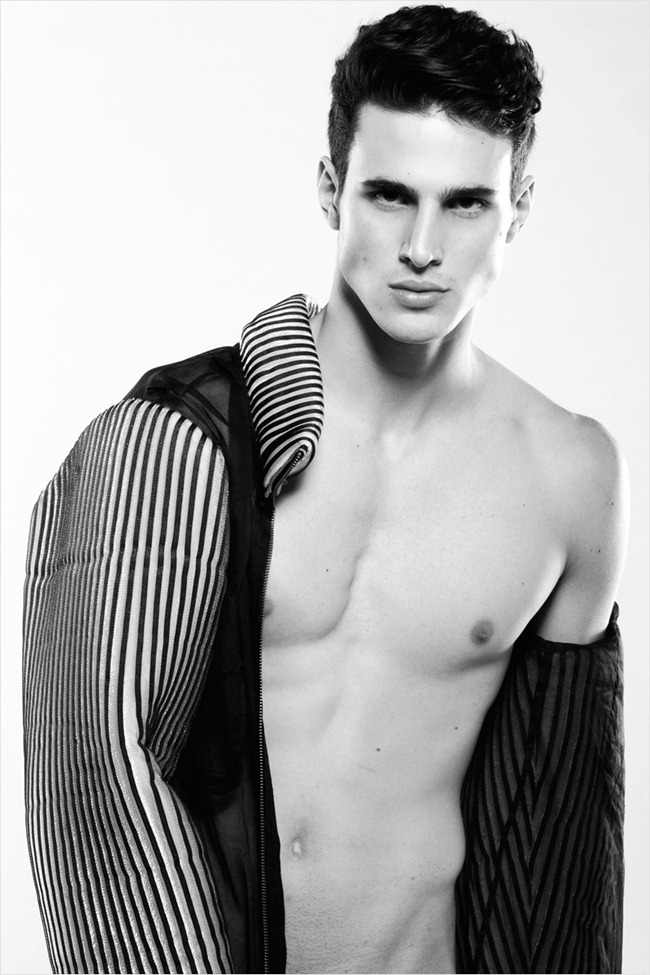 FASHION PHOTOGRAPHY- Lucas Pacheco in Black Feat White by Anton Jhonsen. www.imageamplified.com, Image Amplified (2)
