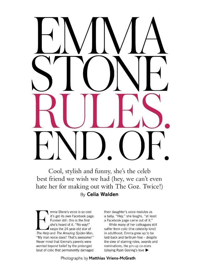 GLAMOUR UK- Emma Stone by Matthias Vriens-McGrath. Anne Christiensen, February 2013, www.imageamplified.com, Image Amplified (1)