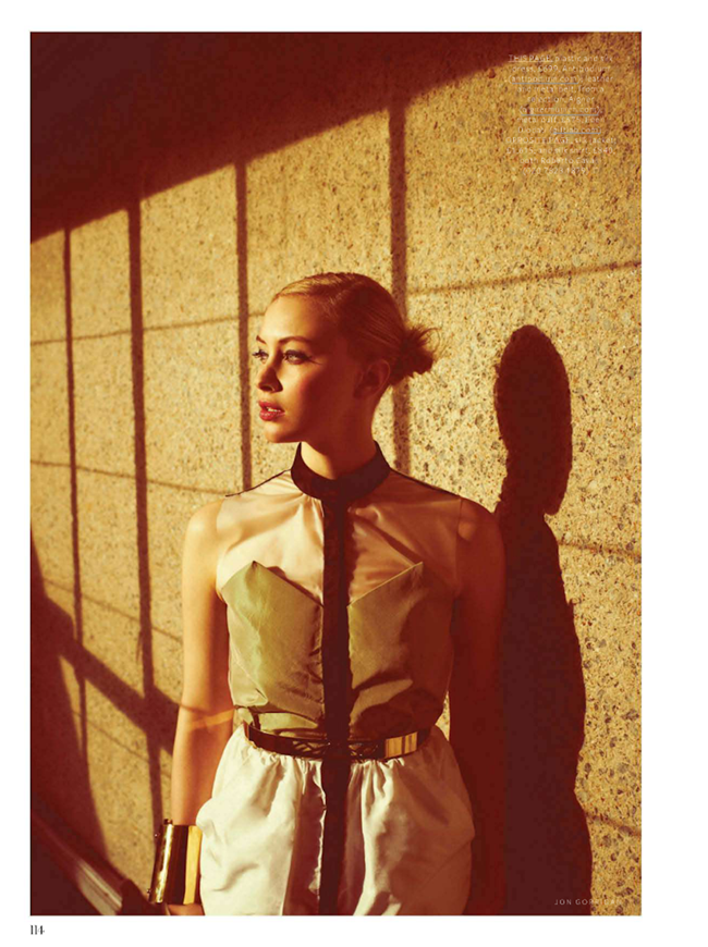 INSTYLE UK- Sarah Gadon in Show your Metal by Jon Gorrigan. Clare Lazaro, February 2013, www.imageamplified.com, Image Amplified (6)