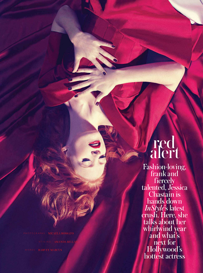 INSTYLE UK- Jessica Chastain in Red Alert by Micaela Rossato. Amanda Bellan, February 2013, www.imageamplified.com, Image Amplified (3)