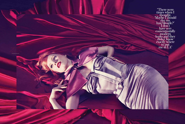 INSTYLE UK- Jessica Chastain in Red Alert by Micaela Rossato. Amanda Bellan, February 2013, www.imageamplified.com, Image Amplified (6)