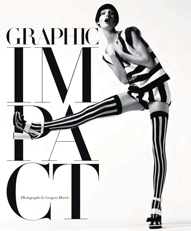 HARPER'S BAZAAR MAGAZINE- Marte Mei Van haaster in Graphic Impact by Gregory Harris. Tony Irvine, February 2013, www.imageamplified.com, Image Amplified (1)