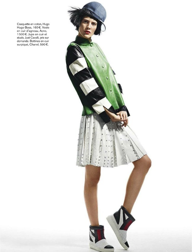 GLAMOUR FRANCE- Carla Ciffoni in Walk the Line by Patrik Sehlstedt. Caroline Christiansson-Gallois, February 2013, www.imageamplified.com, Image Amplified (1)