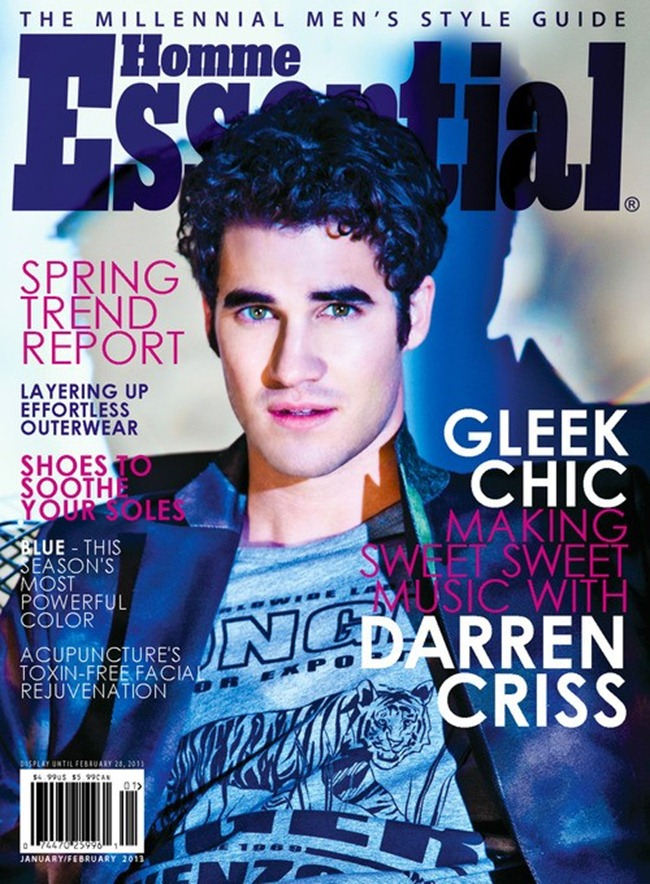 ESSENTIAL HOMME MAGAZINE- Darren Criss in Criss Almighty by Eli Schmidt. Ashley WEston, February 2013, www.imageamplified.com, Image Amplified (5)