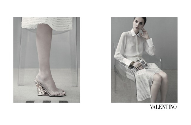 CAMPAIGN- Tilda Lindstam, Codie young, Maud Welzen, Magdalena Jasek & Esther Heesch for Valentino Spring 2013 by Sarah Moon. www.imageamplified.com, Image Amplified (5)