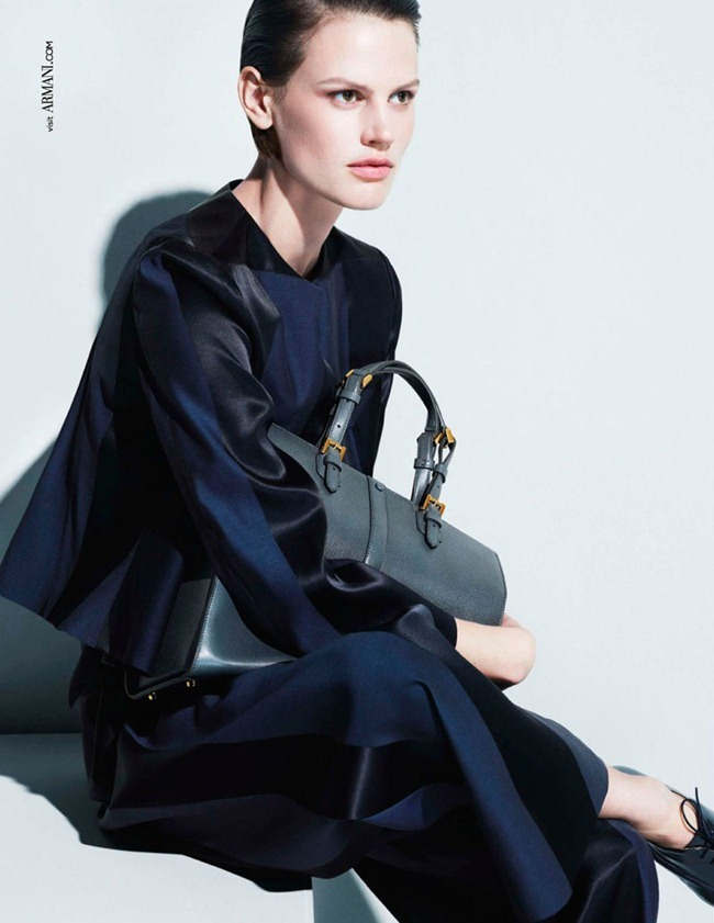 CAMPAIGN- Saskia de Brauw for Giorgio Armani Spring 2013 by Mert & Marcus. www.imageamplified.com, Image Amplified (2)