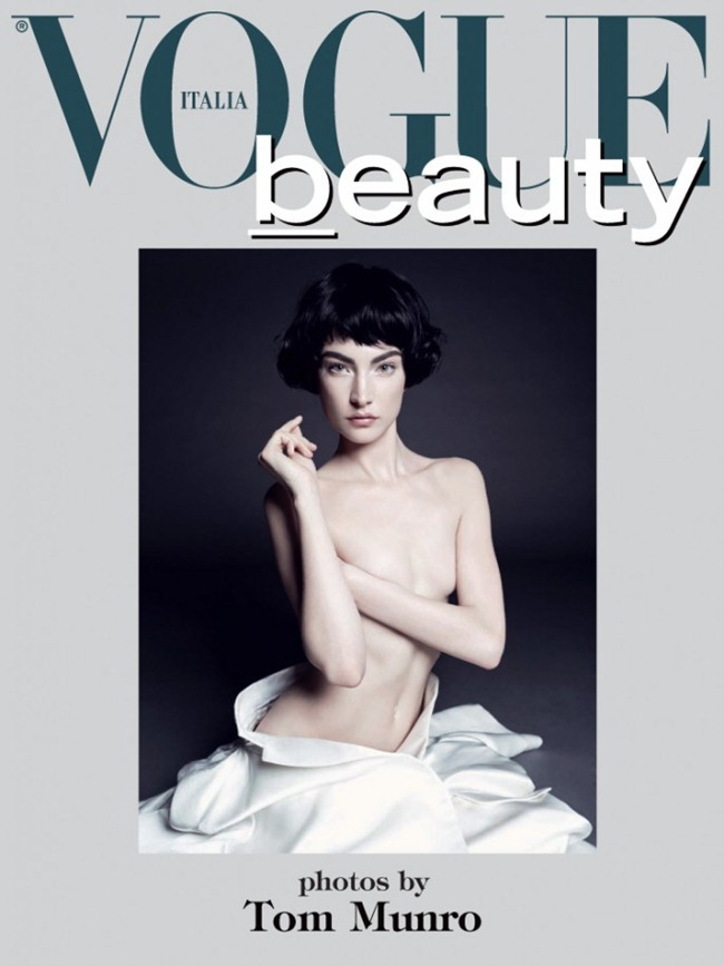 VOGUE ITALIA- Beauty by Tom Munro. Giovanna Battaglia, January 2013, www.imageamplified.com, Image Amplified