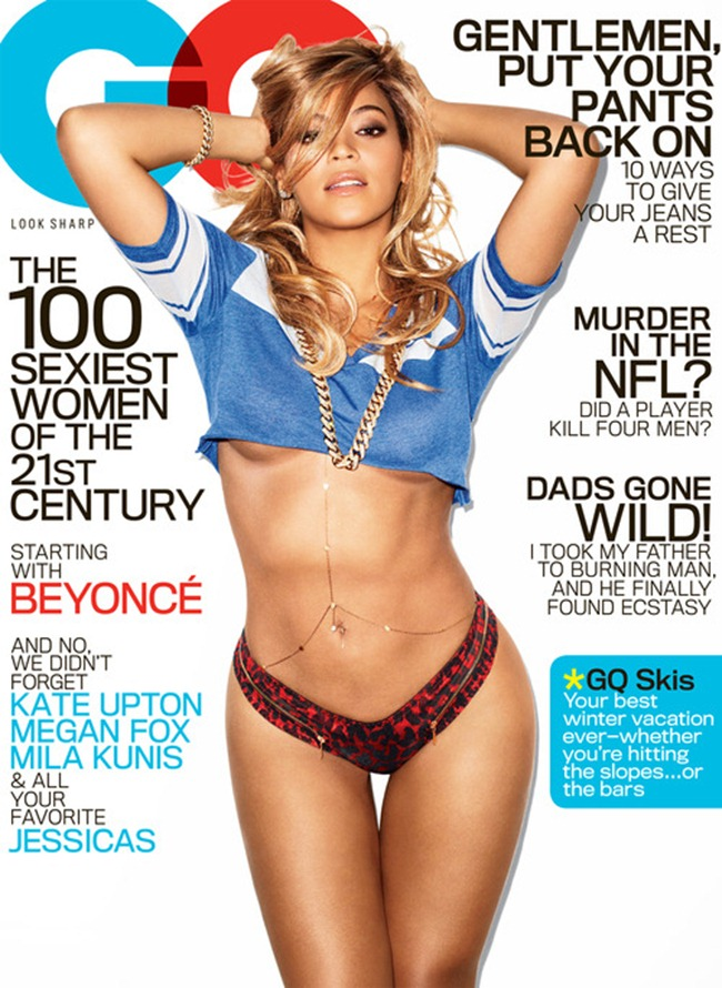GQ MAGAZINE- Beyonce in Miss Millennium by Terry Richardson. February 2013, www.imageamplified.com, Image Amplified