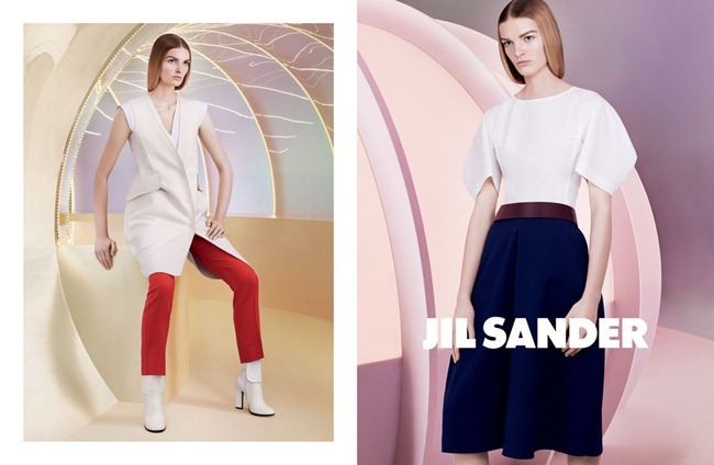 CAMPAIGN- Juliane Gruner for Jil Sander Spring 2013 by David Sims. Joe McKenna, www.imageamplified.com, Image Amplified