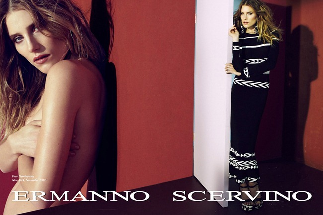 CAMPAIGN- Dree Hemingway & Sebastian Lund for Ermanno Scervino Spring 2013. www.imageamplified.com, Image Amplified (1)