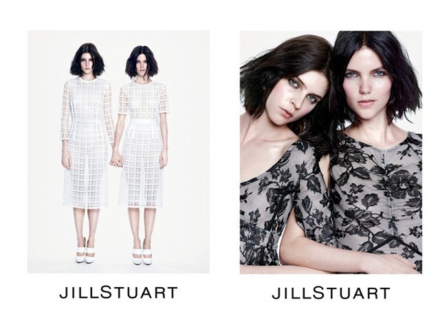 CAMPAIGN- Agnes Nabuurs & Kel Markey for Jill Stuart Spring 2013 by Mario Sorrenti. www.imageamplified.com, Image Amplified (2)