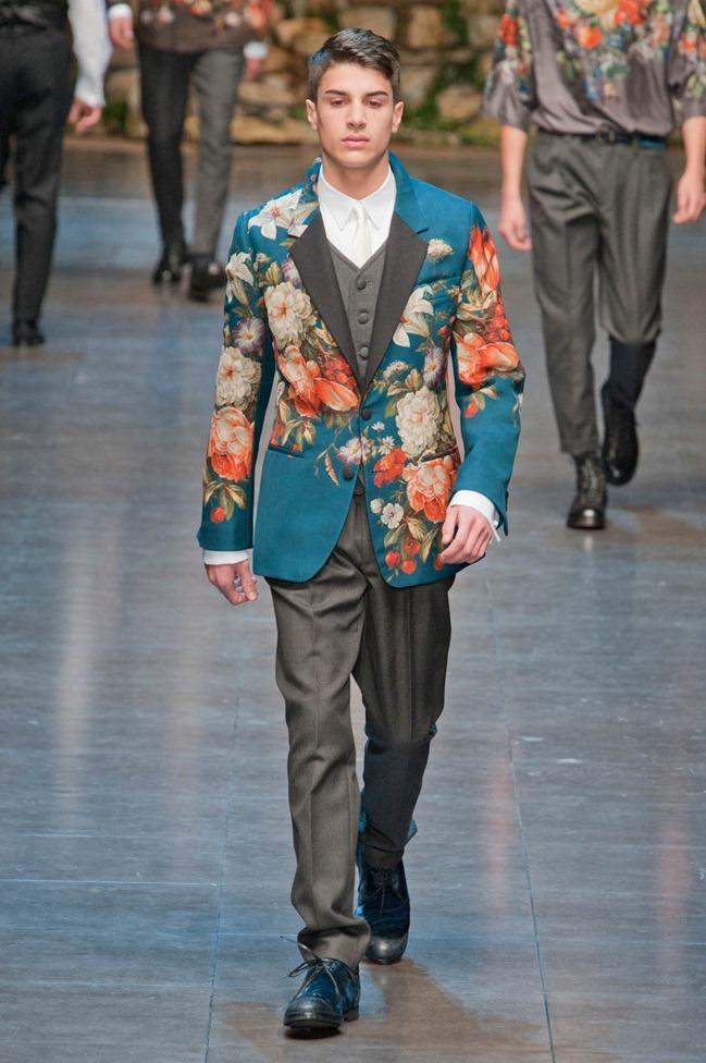 MILAN FASHION WEEK- Dolce & Gabbana Fall 2013. www.imageamplified.com, Image Amplified (43)