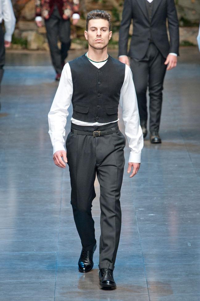 MILAN FASHION WEEK- Dolce & Gabbana Fall 2013. www.imageamplified.com, Image Amplified (73)