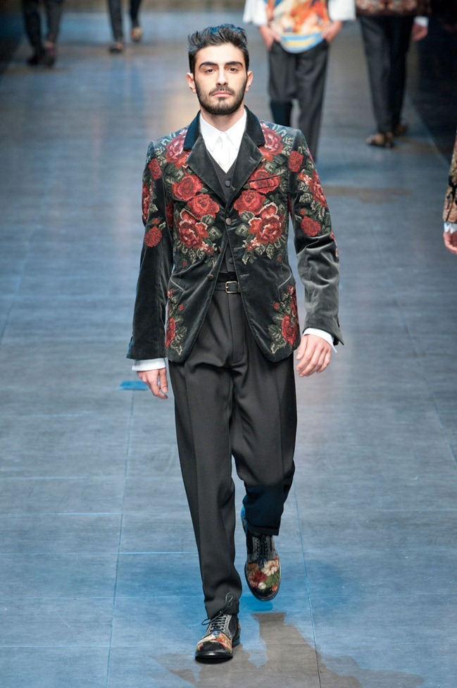 MILAN FASHION WEEK- Dolce & Gabbana Fall 2013. www.imageamplified.com, Image Amplified (79)