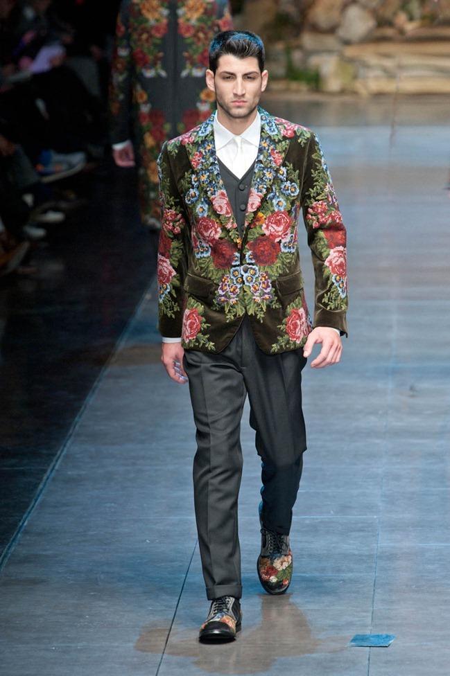 MILAN FASHION WEEK- Dolce & Gabbana Fall 2013. www.imageamplified.com, Image Amplified (81)