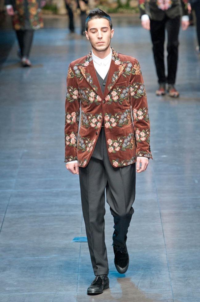 MILAN FASHION WEEK- Dolce & Gabbana Fall 2013. www.imageamplified.com, Image Amplified (82)