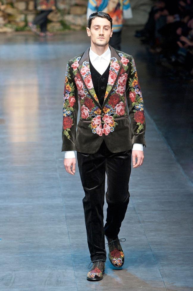 MILAN FASHION WEEK- Dolce & Gabbana Fall 2013. www.imageamplified.com, Image Amplified (83)