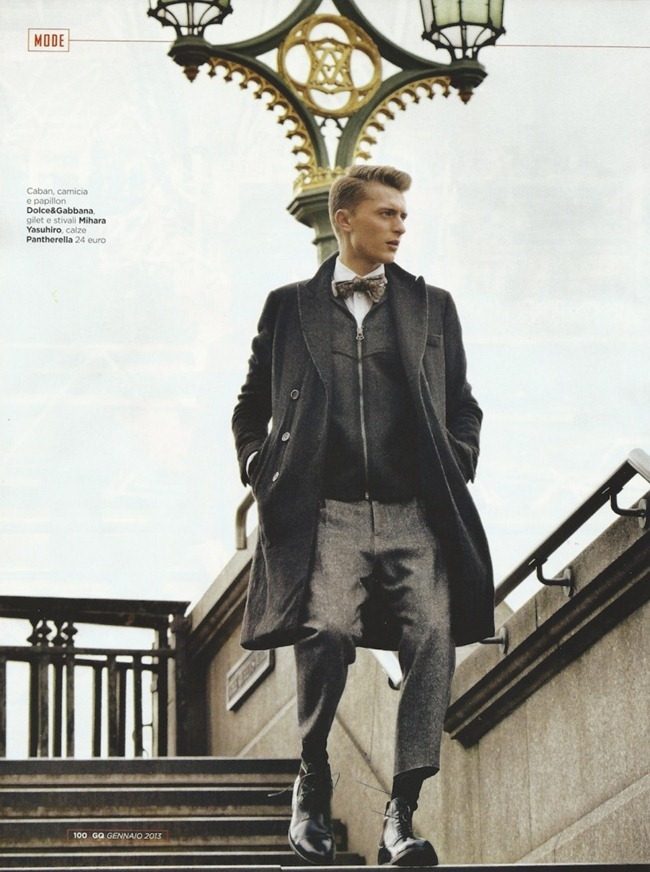 GQ ITALIA- Max Rendell by Daniel Riera. Mark McMahon, January 2013, www.imageamplified.com, Image Amplified