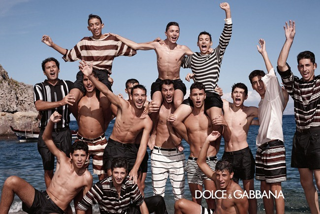 CAMPAIGN- Monica Bellucci & Others for Dolce & Gabbana Menswear Spring 2013 by Domenico Dolce. Stefano Gabbana, www.imageamplified.com, Image Amplified (2)