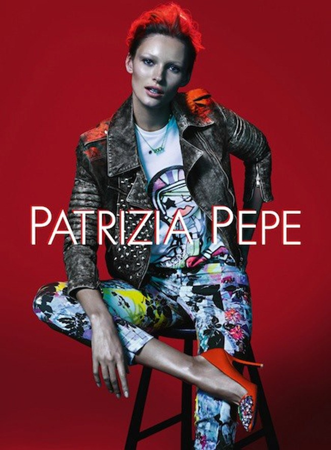 CAMPAIGN- Edita Vilkeviciute for Patrizia Pepe Spring 2013 by Mert & Marcus. www.imageamplified.com, Image Amplified (1)