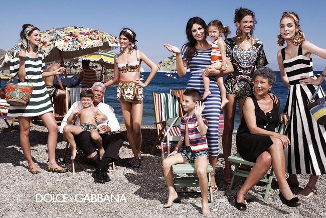 CAMPAIGN- Bianca Balti, Monica Bellucci, Bianca Brandolini D'Adda, Zuzanna Bijoch & kate King for Dolce & Gabbana Spring 2013 by Domenico Dolce. Stefano Gabbana, www.imageamplified.com, Image Amplified (1)