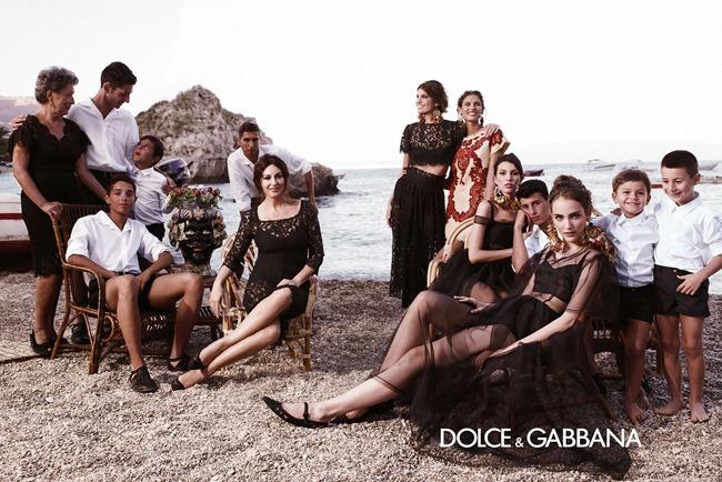 CAMPAIGN- Bianca Balti, Monica Bellucci, Bianca Brandolini D'Adda, Zuzanna Bijoch & kate King for Dolce & Gabbana Spring 2013 by Domenico Dolce. Stefano Gabbana, www.imageamplified.com, Image Amplified (7)