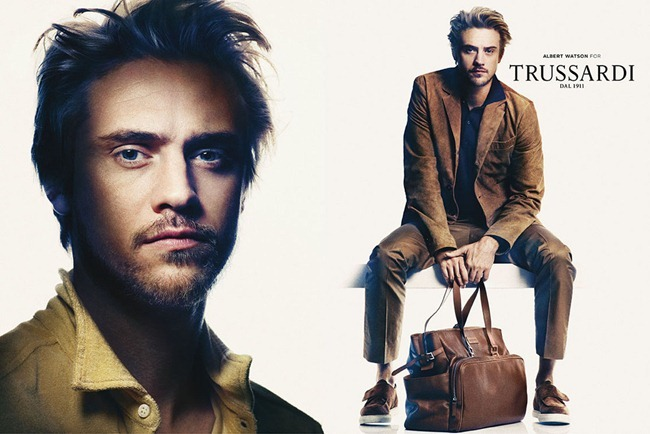 CAMPAIGN- Amber Anderson & Boyd Holbrook for Trussardi Spring 2013 by Albert Watson. www.imageamplified.com, Image Amplified (1)