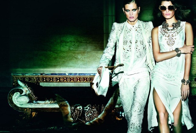 CAMPAIGN- Malgosia Bela, Isabeli Fontana & Sui He for Roberto Cavalli Spring 2013 by Mario Testino. www.imageamplified.com, Image Amplified (2)
