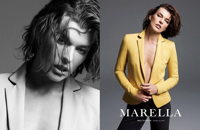 CAMPAIGN- Milla Jovovich for Marella Spring 2013 by Inez & Vinoodh. www.imageamplified.com, Image Amplified