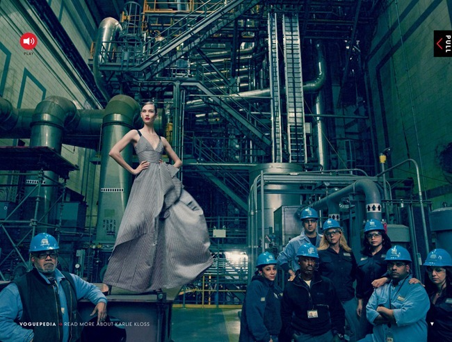 VOGUE MAGAZINE- Karlie Kloss, Kasia Struss, Arizona Muse, Liu Wen, Joan Smalls & Chanel Iman in Storm Troupers by Annie Leibovitz. Tonne Goodman, February 2013, www.imageamplified.com, Image Amplified (1)