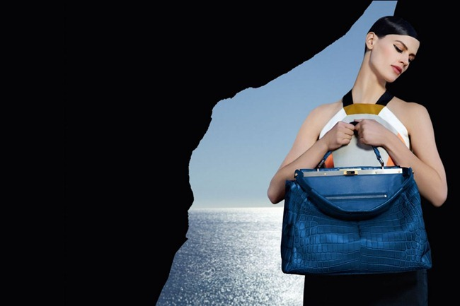 CAMPAIGN- Kati Nescher & Saskia de Brauw for Fendi Spring 2013 by Karl Lagerfeld. www.imageamplified.com, Image Amplified (1)