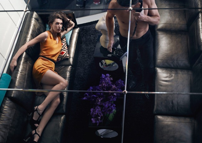 CAMPAIGN- Milla Jovovich & Tyson Ballou for Sisley Spring 2013. www.imageamplified.com, Image Amplified (1)