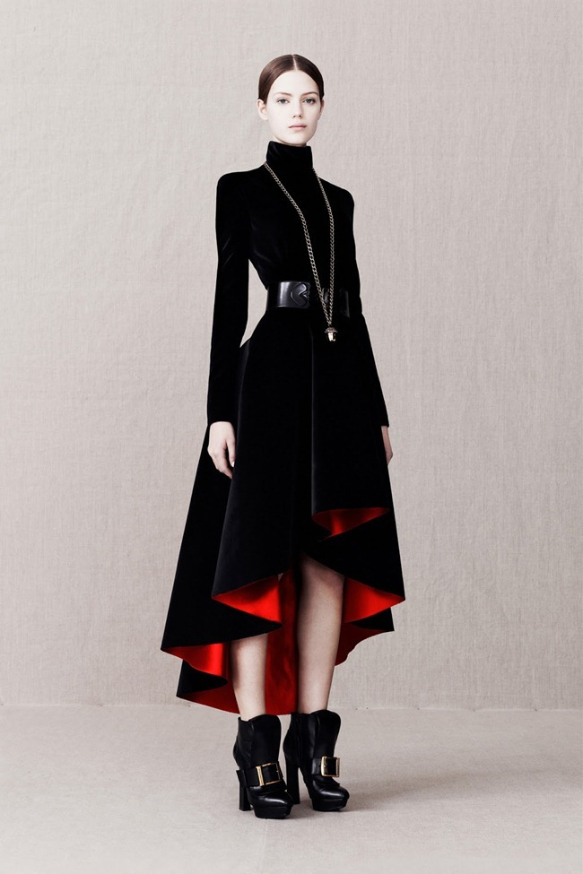 COLLECTION- Alexander McQueen Pre-Fall 2013. www.imageamplified.com, Image Amplified (9)