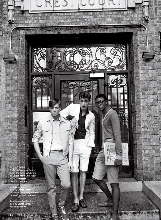 ESSENTIAL HOMME- Jamie Wise, Dominique Hollington & Florian Neuville by Mark Drew. www.imageamplified.com, Image Amplified (2)